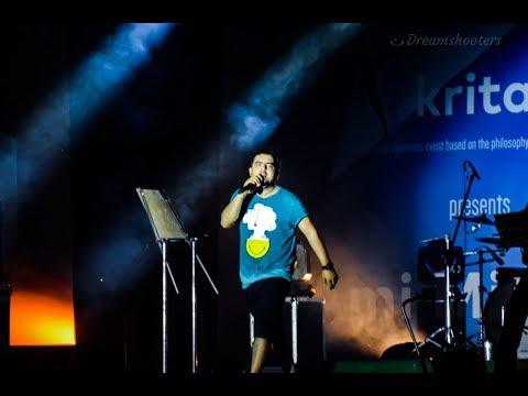 Ami Mishra - Hasi ban Gaye (Rock) live @ Kritarth KIIT Bhubaneshwar