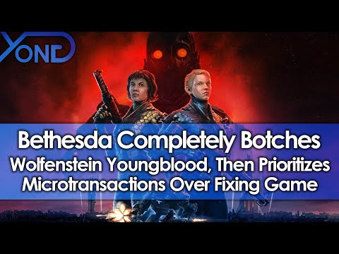 Bethesda Completely Botches Wolfenstein Youngblood, Then Prioritizes Monetization Over Fixing Game thumbnail