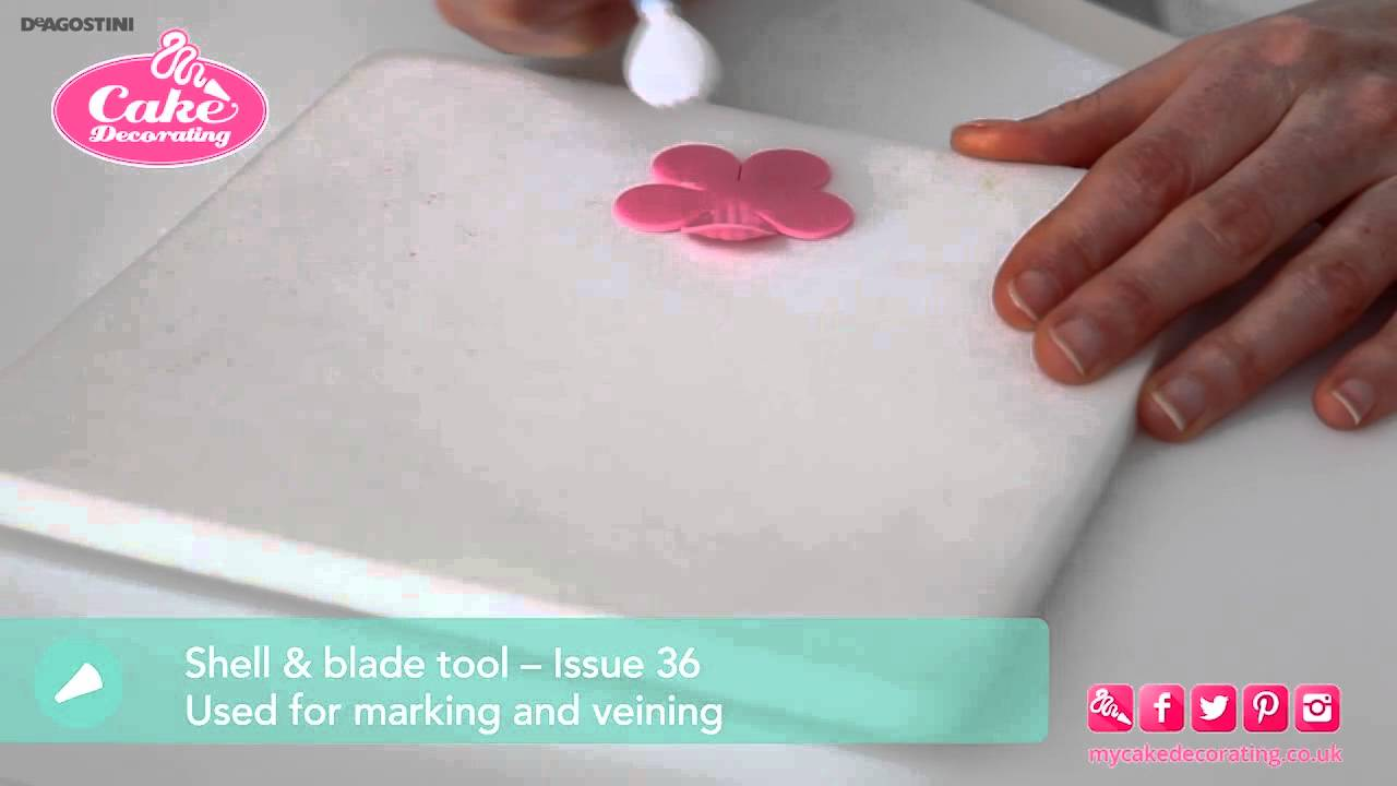 Types of Modelling Tools - Cake Decorating Tutorial