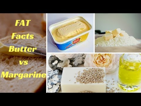 The FAT Facts Butter vs Margarine
