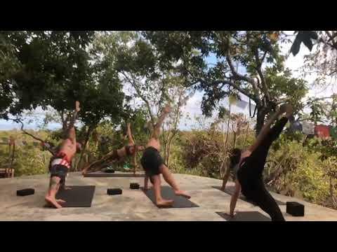 Yoga classes at Utopia Lodge Rote