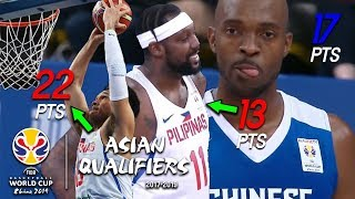 Quincy Davis III (戴維斯) vs Andray Blatche + June Mar Fajardo Full Duel Highlights (29.06.18) [1080p]