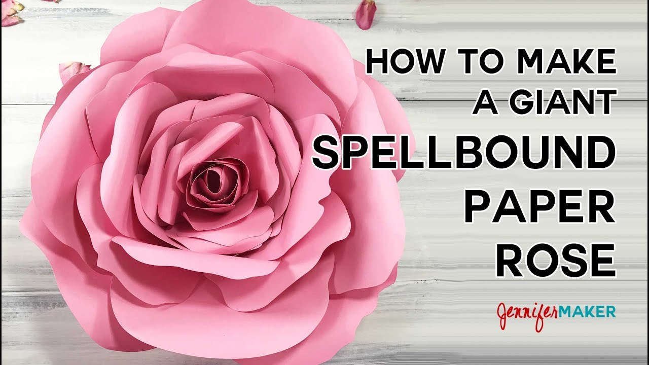 How to make a giant flower spellbound rose tutorial youtube how to make a giant flower spellbound rose tutorial dhlflorist Image collections