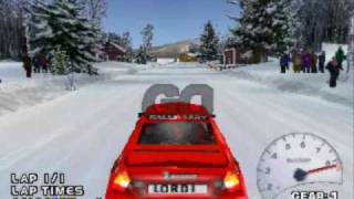 V-rally 2 Playstation 1 (1999) Sweden