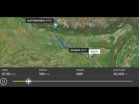 How long it was able to fly US Bangla Airlines before crash