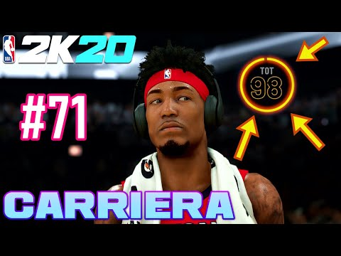 98 Overall! FINALE REGULAR SEASON - NBA 2K20 ITA MY CAREER - Ep.71 - Gameplay PS4