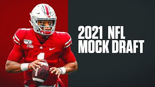 2021 NFL Mock Draft | 6 PERSON FULL FIRST ROUND With Catch The Blitz