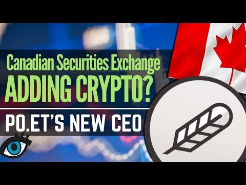 Po.et POE Gets New CEO, Canada Introducing Crypto And New Exchange Listings | Altcoin News