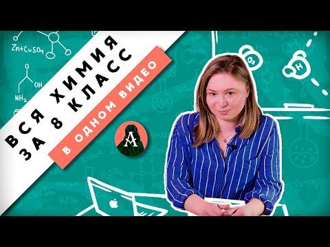 Бесплатные видеоуроки по химии 8 класс габриелян полный курс онлайн