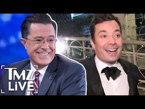 Jimmy Fallon Vs. Stephen Colbert: Late Night War   TMZ Live