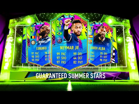 THIS IS WHAT I GOT IN 20x SUMMER STARS TEAM 2 GUARANTEED PAC