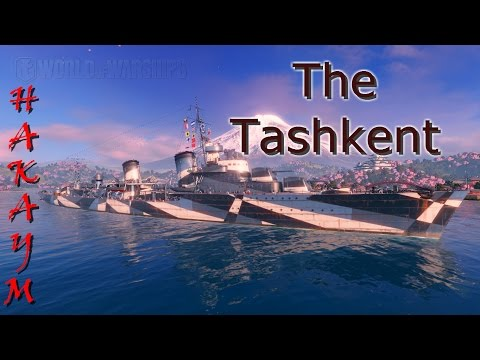 World of Warships - The Tashkent's Good-bye