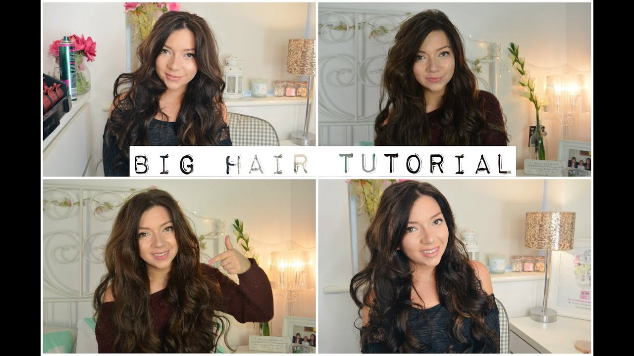 How To Get Hair Using Heated Rollers I Tutorial Dizzybrunette3 Ad