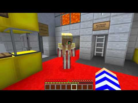 Minecraft Jobs Little Carly Working At The Cinema W Little Kelly