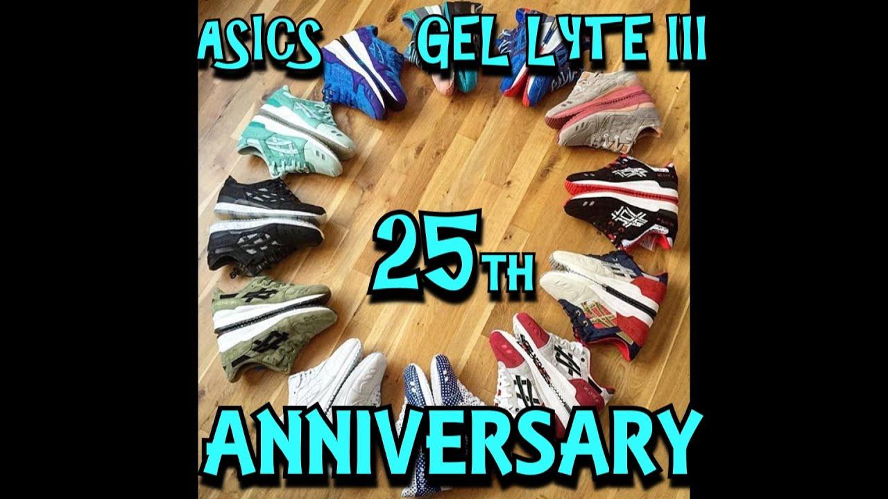 Asics 25th Anniversary Collabs