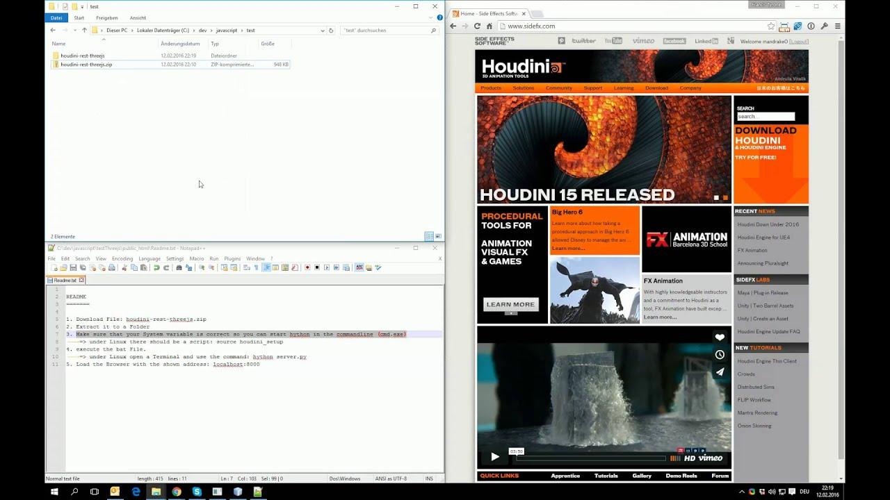 Houdini Engine: Manipulate geometry at runtime in Unity