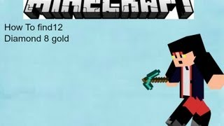 Minecraft pe how to get 12 diamond 8 gold 16 iron seed 0.6.0