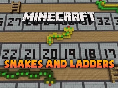 Minecraft: Snakes And Ladders