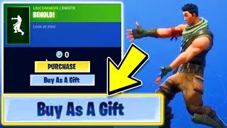Fortnite GIFTING SYSTEM Release Date! How to GIFT Skins in Fortnite! (Gifting System in Fortnite)