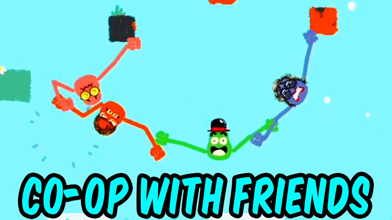 Teo and friends play this silly co-op game
