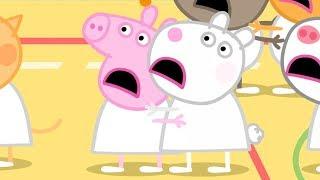 Peppa Pig en Español Episodios completos 🏀BALONCESTO | Día de ejercicios | Pepa la cerdita