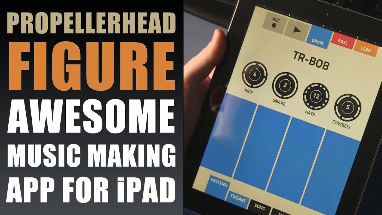 figure propellerhead app making music with ipad 4 retina display making beats youtube. Black Bedroom Furniture Sets. Home Design Ideas