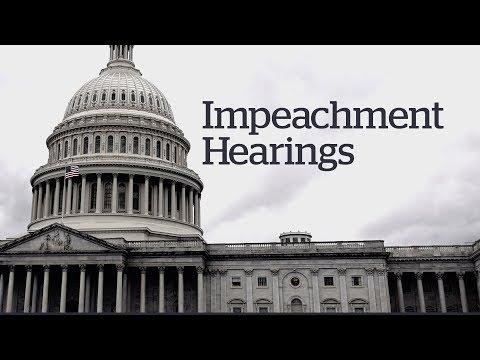 LIVE: U.S. impeachment hearings