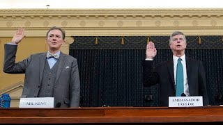 U.S. impeachment hearings