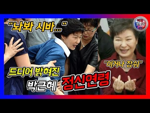 🔴소름돋는 박근혜 정신연령 검증영상 [꿀잼보장]🔵