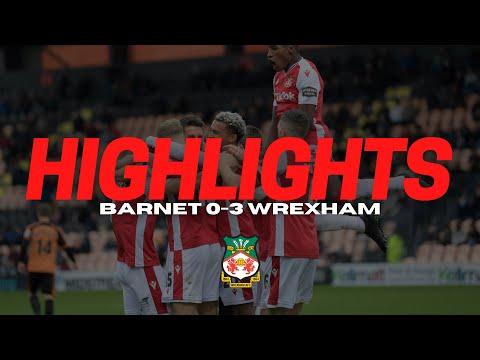 Barnet Wrexham Goals And Highlights