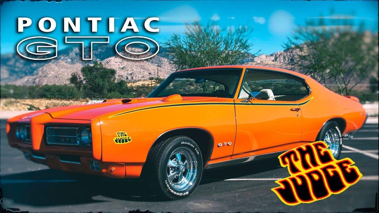 Pontiac GTO (Понтиак ГТО) 1968-1969   Иcтория МАСЛКАРА Часть #2