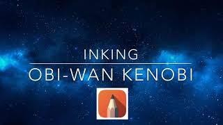 Inking Obi-wan Kenobi