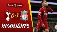 Tottenham 0-1 Liverpool | Firmino's emphatic strike seals win | Highlights