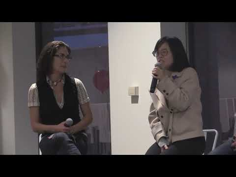 Talia Baruch with Panel GlobalSake and Get Global -  3 19 2018