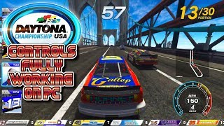 Daytona Championship USA (2017) - Seaside Street Galaxy: Controls FULLY working on PC