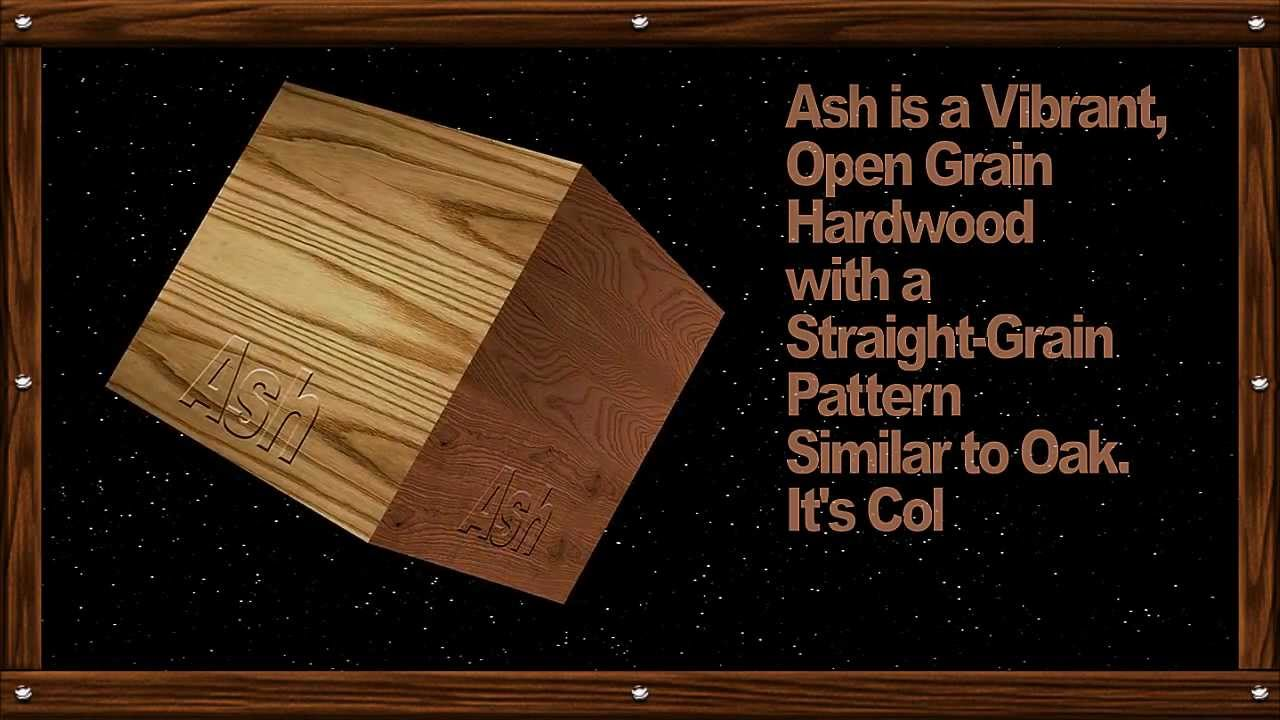 Beautiful Wood Identification   YouTube