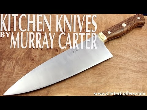 Kitchen Knife Guide - CARTER CUTLERY