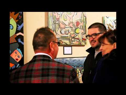 Corey Couturier Art Show. 2013. Gaslight Inn Gallery in Glendale, AZ