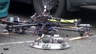 Amazing Drone Crash | Vancouver Canada