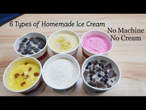 Homemade ice cream recipe without condensed milk