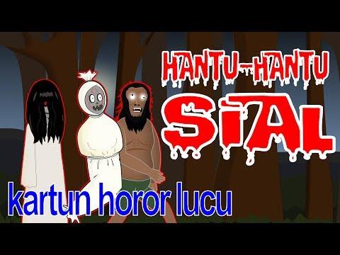 Para Hantu Sial - Kartun Horor Lucu