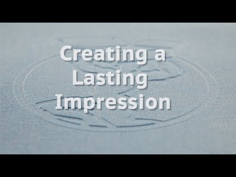 Embossing - Creating a lasting Impression