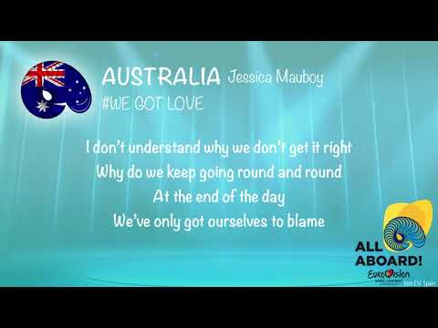 Jessica Mauboy - We Got Love (Australia) [Karaoke Version]