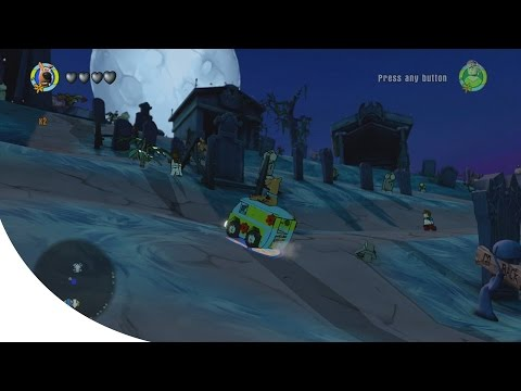 LEGO Dimensions - Scooby Doo World - Open World Free Roam Gameplay