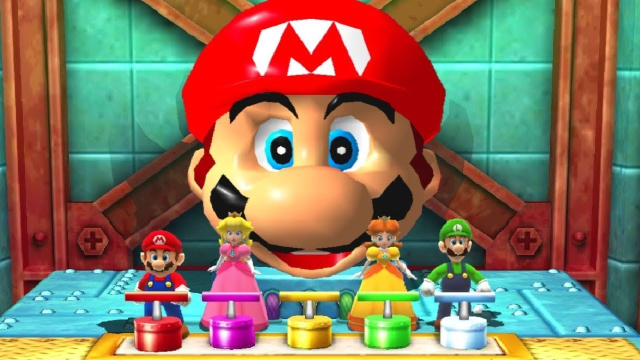 Mario Party The Top 100 - All Minigames (Master Difficulty)