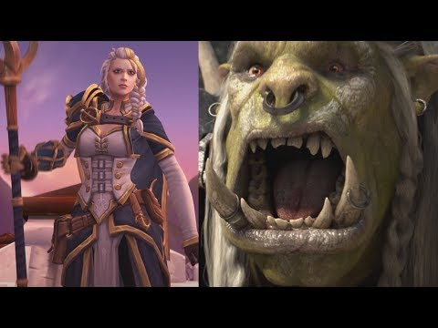 Changes to Horde/Ally Introduction - Battle for Azeroth Alpha