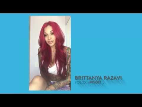 Brittanya Razavi Before And After