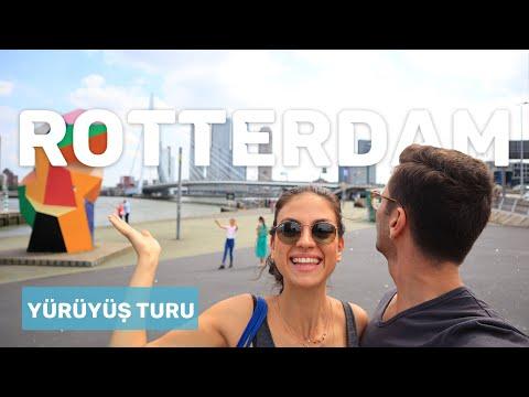 8 Dakikada Rotterdam (Korona Öncesi) | Gezilecek yerler | Kayıp Gezginler VLOG