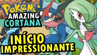 Pokemon Amazing Cortana (Hack Rom - GBA) - O Início Impactante
