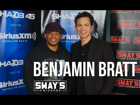 Benjamin Bratt  on Sway in the Morning